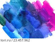 Абстрактный акварельный фон. Стоковое фото, фотограф Екатерина Кулаева / Фотобанк Лори