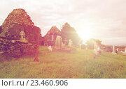 Купить «old celtic cemetery graveyard in ireland», фото № 23460906, снято 24 июня 2016 г. (c) Syda Productions / Фотобанк Лори