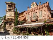 Купить «Театр марионеток Резо Габриадзе. Башня с часами.Тбилиси, Грузия», эксклюзивное фото № 23461858, снято 14 июня 2016 г. (c) Gagara / Фотобанк Лори