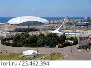 Купить «Олимпийский парк Сочи», эксклюзивное фото № 23462394, снято 12 июля 2016 г. (c) Алексей Гусев / Фотобанк Лори