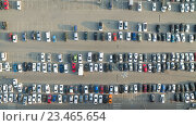 Купить «Автомобили на парковке возле торгового центра», фото № 23465654, снято 27 августа 2016 г. (c) Арестов Андрей Павлович / Фотобанк Лори