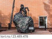Купить «Памятник горняку. Кировск», фото № 23489478, снято 31 июля 2016 г. (c) Василий Аксюченко / Фотобанк Лори