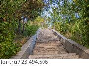 Лестница. Стоковое фото, фотограф Amir Navrutdinov / Фотобанк Лори