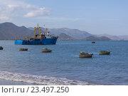 Купить «Береговая охрана. Вьетнам», фото № 23497250, снято 25 июня 2014 г. (c) Рашит Загидуллин / Фотобанк Лори