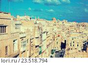 Купить «View of Valletta. Malta», фото № 23518794, снято 12 декабря 2010 г. (c) Яков Филимонов / Фотобанк Лори