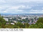 Уссурийск. Панорама города (2016 год). Стоковое фото, фотограф antonio2007st / Фотобанк Лори