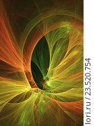 Абстрактный фрактал. Стоковая иллюстрация, иллюстратор Rashpil / Фотобанк Лори
