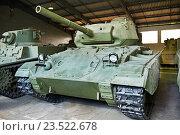 Купить «Американский легкий танк M24 Chaffee», фото № 23522678, снято 23 августа 2014 г. (c) Сергей Рыжов / Фотобанк Лори