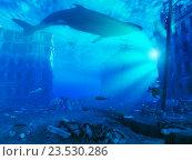 Купить «Подводный город», иллюстрация № 23530286 (c) Виктор Застольский / Фотобанк Лори