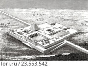 Купить «Reconstruction of the North West Palace of Ashurnasirpal II, Assyria, Iraq.», фото № 23553542, снято 23 августа 2016 г. (c) age Fotostock / Фотобанк Лори