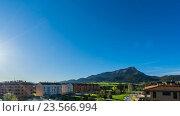 Купить «Timelapse spanish landscape», видеоролик № 23566994, снято 7 сентября 2016 г. (c) Raev Denis / Фотобанк Лори