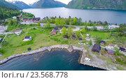 Купить «Красивая природа Норвегии», видеоролик № 23568778, снято 9 апреля 2016 г. (c) Андрей Армягов / Фотобанк Лори