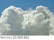 Облако крупным планом, фон. Стоковое фото, фотограф Илья Малов / Фотобанк Лори
