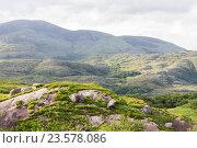 Купить «view to Killarney National Park hills in ireland», фото № 23578086, снято 25 июня 2016 г. (c) Syda Productions / Фотобанк Лори