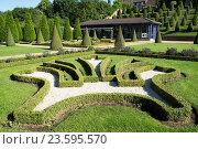 Купить «Baroque garden Abbey Kamp, Kamp-Lintfort, Germany», фото № 23595570, снято 20 февраля 2019 г. (c) age Fotostock / Фотобанк Лори