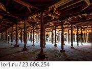 Купить «Asia, Uzbekistan, Khiva, Interior of Friday Mosque.», фото № 23606254, снято 14 ноября 2018 г. (c) age Fotostock / Фотобанк Лори