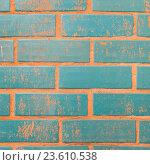 Купить «Background of colorful brick wall texture», фото № 23610538, снято 25 мая 2019 г. (c) age Fotostock / Фотобанк Лори