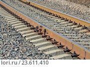 Купить «Железная дорога», фото № 23611410, снято 1 мая 2016 г. (c) Сергей Трофименко / Фотобанк Лори