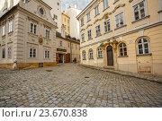 Купить «Старинные здания 18-го и 19-го века в историческом центре. Вена, Австрия.», фото № 23670838, снято 22 февраля 2016 г. (c) Bala-Kate / Фотобанк Лори