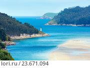 Купить «Porto Do Barqueiro, Galicia, Spain.», фото № 23671094, снято 12 мая 2016 г. (c) Юрий Брыкайло / Фотобанк Лори