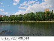 Купить «Мазиловский пруд. Район Фили-Давыдково. Москва», эксклюзивное фото № 23708014, снято 19 мая 2009 г. (c) lana1501 / Фотобанк Лори