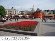 Купить «Площадь Революции в Москве», эксклюзивное фото № 23708354, снято 11 мая 2009 г. (c) lana1501 / Фотобанк Лори