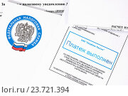 Оплата налогов (2016 год). Редакционное фото, фотограф Всеволод Карулин / Фотобанк Лори