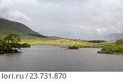Купить «view to island in lake or river at ireland», фото № 23731870, снято 23 июня 2016 г. (c) Syda Productions / Фотобанк Лори
