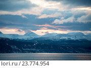 Купить «Горный пейзаж в Гренландии», фото № 23774954, снято 1 сентября 2016 г. (c) Vladimir / Фотобанк Лори