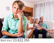 Купить «Conflict in a family», фото № 23822350, снято 22 ноября 2018 г. (c) Яков Филимонов / Фотобанк Лори