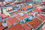 Вид сверху на крыши Лиссабона. Португалия, фото № 23842646, снято 13 октября 2016 г. (c) Екатерина Овсянникова / Фотобанк Лори