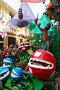 Decorated streets of Gracia district. Mushrooms and flowers theme, фото № 23843006, снято 16 августа 2015 г. (c) Яков Филимонов / Фотобанк Лори