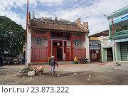 Купить «Вьетнам. Буддийский храм», фото № 23873222, снято 26 июня 2014 г. (c) Рашит Загидуллин / Фотобанк Лори