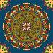 Бесшовный узор. Мандала, иллюстрация № 23902110 (c) Irina Kruskop / Фотобанк Лори