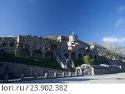 Купить «Северная Осетия. Аланский успенский монастырь», эксклюзивное фото № 23902382, снято 19 сентября 2016 г. (c) Литвяк Игорь / Фотобанк Лори