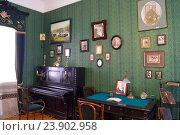 Купить «Гостиная в музее семьи Аксаковых», эксклюзивное фото № 23902958, снято 9 августа 2016 г. (c) Volgograd.travel / Фотобанк Лори