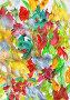 """Абстрактный рисунок, """"Разноцветье"""", гуашь, фото № 23908102, снято 23 августа 2016 г. (c) Виктор Топорков / Фотобанк Лори"""