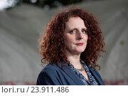 Купить «EDINBURGH, SCOTLAND, Thursday 25th, AUGUST 2016: Northern Irish author of contemporary fiction Maggie O'Farrell appears at the Edinburgh International...», фото № 23911486, снято 25 августа 2016 г. (c) age Fotostock / Фотобанк Лори