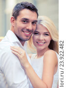 Купить «young married couple in the city», фото № 23922482, снято 14 июля 2013 г. (c) Syda Productions / Фотобанк Лори