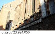 Купить «Parish of Assumption of Blessed Virgin Mary, Torun», видеоролик № 23924050, снято 5 ноября 2015 г. (c) BestPhotoStudio / Фотобанк Лори