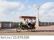 Купить «Самара, набережная реки Волги», фото № 23974030, снято 18 октября 2018 г. (c) Igor Lijashkov / Фотобанк Лори