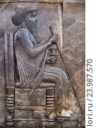 Iran, Tehran, National Museum of Iran, Persepolis, Apadana, Darius I. (2016 год). Редакционное фото, фотограф Philippe Michel / age Fotostock / Фотобанк Лори