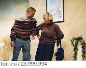 Наталья Гундарева и Борис Щербаков. Редакционное фото, фотограф Михаил Ворожцов / Фотобанк Лори
