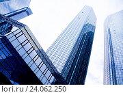 Купить «Office buildings, natural colorful tone», фото № 24062250, снято 3 июня 2014 г. (c) easy Fotostock / Фотобанк Лори