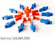 Купить «Concept of teamwork, natural colorful tone», фото № 24065550, снято 12 августа 2014 г. (c) easy Fotostock / Фотобанк Лори