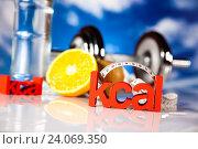 Купить «Healthy lifestyle concept, vitamins, bright colorful tone», фото № 24069350, снято 27 апреля 2013 г. (c) easy Fotostock / Фотобанк Лори