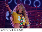 Купить «Singer Britney Spears during the residency show Britney: Piece of Me at The AXIS auditorium located in the Planet Hollywood Resort & Casino. Las Vegas, 22nd June 2016», фото № 24104270, снято 2 апреля 2020 г. (c) age Fotostock / Фотобанк Лори