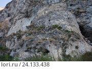 Купить «Северная Осетия.Дзигвис.  Дзигвиская скальная крепость», эксклюзивное фото № 24133438, снято 19 сентября 2016 г. (c) Литвяк Игорь / Фотобанк Лори