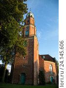 Leer, Germany, the Great Church in Leer (2014 год). Редакционное фото, агентство Caro Photoagency / Фотобанк Лори