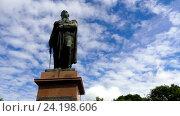 Купить «Monument to Kutuzov in Smolensk, Russia», видеоролик № 24198606, снято 23 октября 2016 г. (c) BestPhotoStudio / Фотобанк Лори